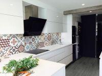 Encaustic Tile - VA Vintage Colour Mix Encaustic Tile 20cm x 20cm