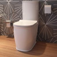 Sussex Coupled Open Backed Toilet Pan