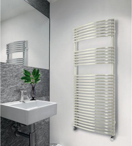 Bronx Curved Towel Radiator