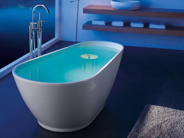 Lavello Freestanding 1740mm Acrylic Bath - The Tile Company