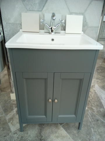 Pure York Freestanding Vanity Unit The Tile Company