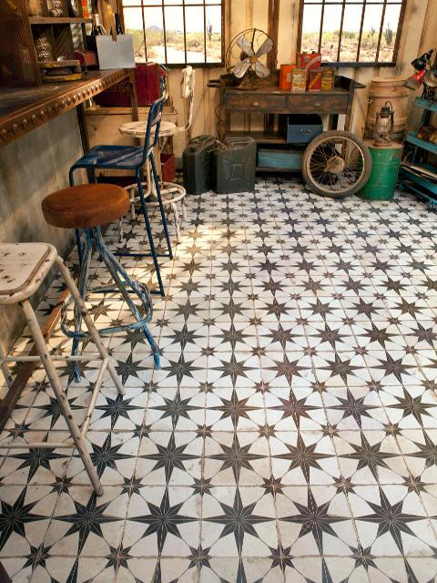 Fs Heritage Star Floor Tile The Tile Company